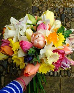 Beautiful daffodil bouquet - Jane Brocket