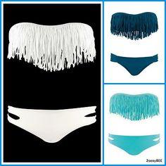 New 2013 Fringe Benefits Dolly Bikini Top Bottom Swimsuit   eBay