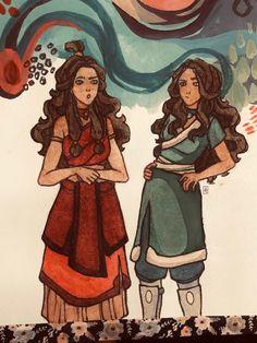 Katara's outfits were so cuteee🌟 The Last Airbender Cartoon, Avatar The Last Airbender Art, Korra Avatar, Team Avatar, Legend Of Aang, Zuko And Katara, Avatar Series, Fanfiction, Azula