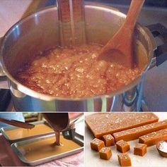 Como fazer Balas de Caramelo em casa - Amando Cozinhar - Receitas, dicas de culinária, decoração e muito mais!