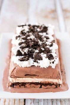 Chocolate lovers, rejoice! This cake will keep you cool all summer long. Get the recipe at Unsophisticook.