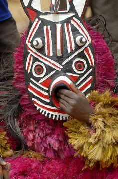 Africa |  Pouni ~ Mask Festival in Burkina Faso | © Sergio Pessolano