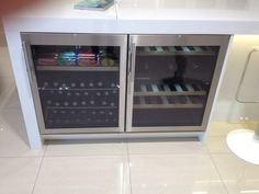 Lebbher bar fridge and wine cabinet for cocktail bar