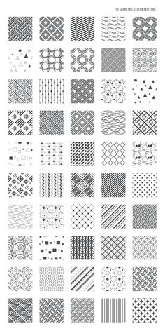 54 Zentangle pattern ideas for beginners, plus inspiration for taking your Zentangles to the next level. 54 Zentangle pattern ideas for beginners, plus inspiration for taking your Zentangles to the next level. Geometric Patterns, Doodle Patterns, Line Patterns, Geometric Designs, Geometric Art, Textures Patterns, Simple Geometric Pattern, How To Draw Patterns, Easy Zentangle Patterns