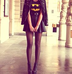 Voor bij je batman masker