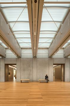 Kimbell Art Museum Expansion - Renzo Piano Building Workshop