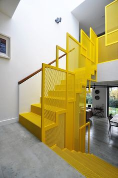 Xpin - Choosing an iron spiral staircase for your home has numerous benefits One of the biggest is that. interior design adorable staircase design ideas for home Interior Stairs, Office Interior Design, Interior Architecture, Stair Handrail, Staircase Railings, Spiral Staircases, Stairways, Metal Stairs, Modern Stairs