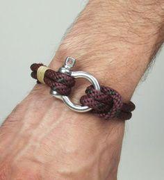 Sailing bracelet. Men's Bracelet Nautical Sailing by ZEcollection, $18.00