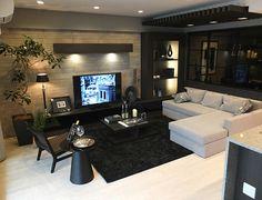 28 Trendy home decored apartment men living rooms Manly Living Room, Living Room On A Budget, Living Room Sofa, Home Living Room, Room Interior, Interior Design Living Room, Design Room, Simple Modern Interior, Zeina