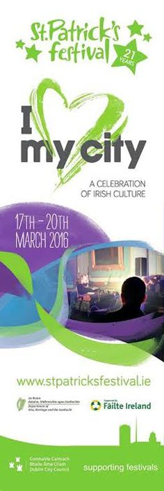 St Patrick's Festival 2016 supported by Dublin City Council. #StPatricks #civicmedia2016