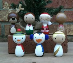 Hey, I found this really awesome Etsy listing at https://www.etsy.com/listing/213288701/wooden-peg-doll-christmas-ornament