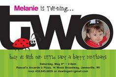 Coming Up With Second Birthday Party Invitation Wording