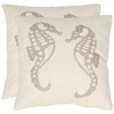 Throw pillows for couch (removable cover for washing)