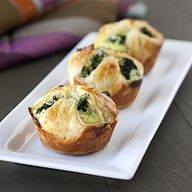 Spinach Puffs - great Thanksgiving appetizer, side dish, or vegetarian dish!