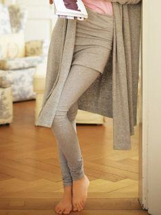 Leggings mit Rockteil