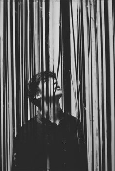 (1) Tumblr Photography, black and white, man, barcode