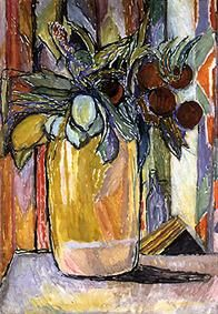 vanessa bell painting - love this color palette