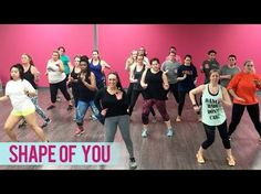 Ed Sheeran - Shape of You (Dance Fitness with Jessica) - YouTube