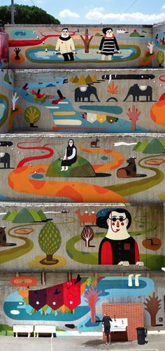 Everything a mural should be, by Agostino Iacurci
