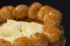 Gateau St. Honore - a pastry class  as only the French can do it at  http://pastrieslikeapro.com/2014/10/gateau-st-honore/