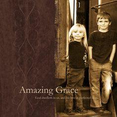Amazing Grace quote photo art scrapbook