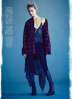 visual optimism; fashion editorials, shows, campaigns & more!: rebel belle: heloise guerin by james macari for uk marie claire september 2013