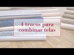 4 trucos para combinar telas   Tutoriales patchwork 4 tricks to combine fabrics                                                                                                                                                      Más