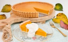 Pompoentaart (pumpkin pie) - Keuken♥Liefde A Food, Good Food, Food And Drink, Time To Eat, Winter Food, Cake Cookies, Cupcakes, No Bake Cake, Cake Recipes
