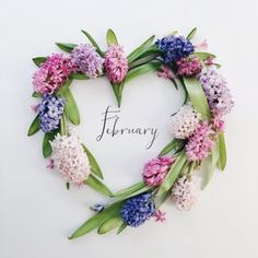 February 03 2020 at February Month, Happy February, Seasons Months, Months In A Year, 12 Months, 1 Year, Valentine Wreath, Valentines, February Quotes
