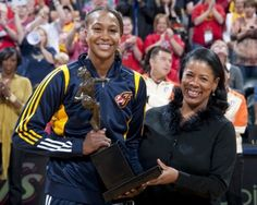 The reigning WNBA MVP Tamika Catchings of the Indiana Fever continues to help kids chase their dreams to one day catch the stars and be on top of the world. #WNBA #charity #Indiana #Fever #basketball