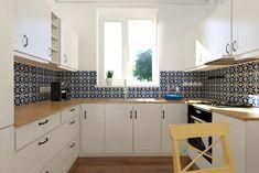 kafelki wokół okna w kuchni at DuckDuckGo Kitchen Cabinets, Interior, Home Decor, Restaining Kitchen Cabinets, Indoor, Homemade Home Decor, Kitchen Base Cabinets, Design Interiors, Interior Design