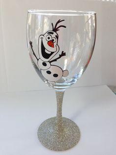 OLAF WINE GLASS!!!