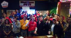 Special event watch party at Hard Times Cafe. We gave away some cool Wizards autographed prizes at the end of each quarter and Hard Times extended happy hour til 9pm for the group. $4 bombs were also flowing as the crowd got really loud and really into the game. Here's what happened...