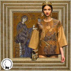 Dolce e Gabbana - Fall Winter 2013 - Guglielmo II dedica la cattedrale di Monreale alla Madonna (Duomo di Monreale)