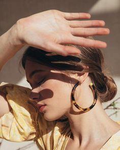 big hoop earrings #style
