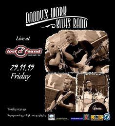 Working Blue, Blue Band, Lost & Found, Blues, Daddy, Music, Movie Posters, Musica, Musik
