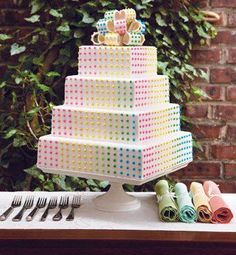 Candy Themed Bridal Shower Idea per Calligraphy by Jennifer