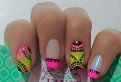 Happy Nails, Nail Ideas, Nail Designs, Beauty, Color, Jewelry, Enamels, Nail Stickers, Fairy