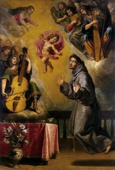 The vision of St. Anthony of Padua Vincenzo Carducci –1632
