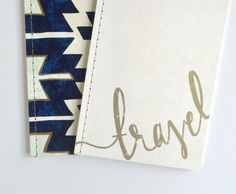 Hand Lettered Lined Notebooks