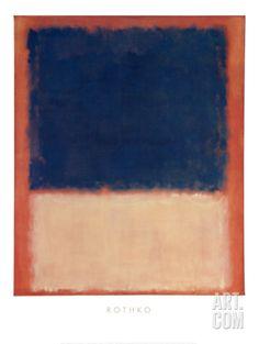 No. 203, c.1954 Art Print by Mark Rothko at Art.com