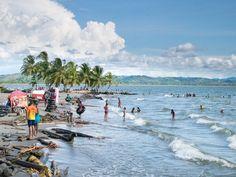 La plage de Necocli sur la caraïbes en Colombie #Colombie #Voyage #Couleurs #Inspiration #Caraibes #Plages #Mer #Plage #Colombia #Palmier #Necocli #Voyager #Tourisme #Durable #Ethique #TourismeResponsable