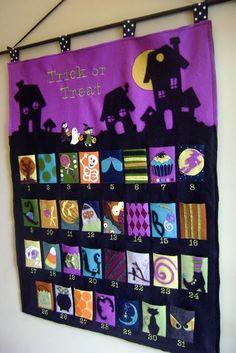 Halloween Advent Calendar.