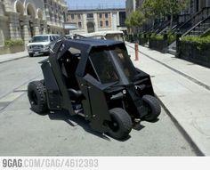 Batman Golf Cart
