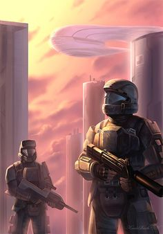 Art of the Day Halo 3 Odst, Halo 2, Video Game Art, Video Games, Halo Armor, Halo Spartan, Halo Series, Halo Game, Pokemon