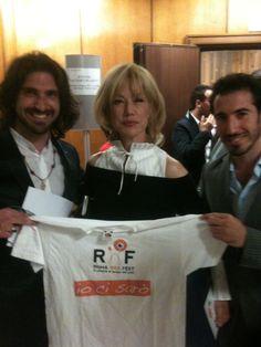 @nancynbrilli  nancy brilli  tra gli amici di #RomaWebFest #rwf #rwf2013 #nancynbrilli