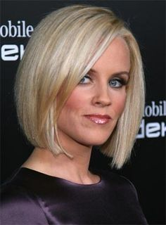blonde bob Jenny McCarthy