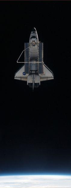 """Farewell, Atlantis"" #NASA #Shuttle #LEO"