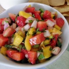 Many dog owners ask themselves again and again whether can dogs eat mango or not. Mango Recipes, Mexican Food Recipes, Salad Recipes, Vegetarian Recipes, Cooking Recipes, Healthy Recipes, Ethnic Recipes, Deli Food, Food Inspiration