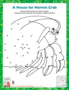 a house for hermit crab printables ocean and beach for preschool pinterest coloring. Black Bedroom Furniture Sets. Home Design Ideas